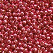 Toho 11/0 Seed Beads Permanent Finish Galvanised Orchid PF563 - 10 grams